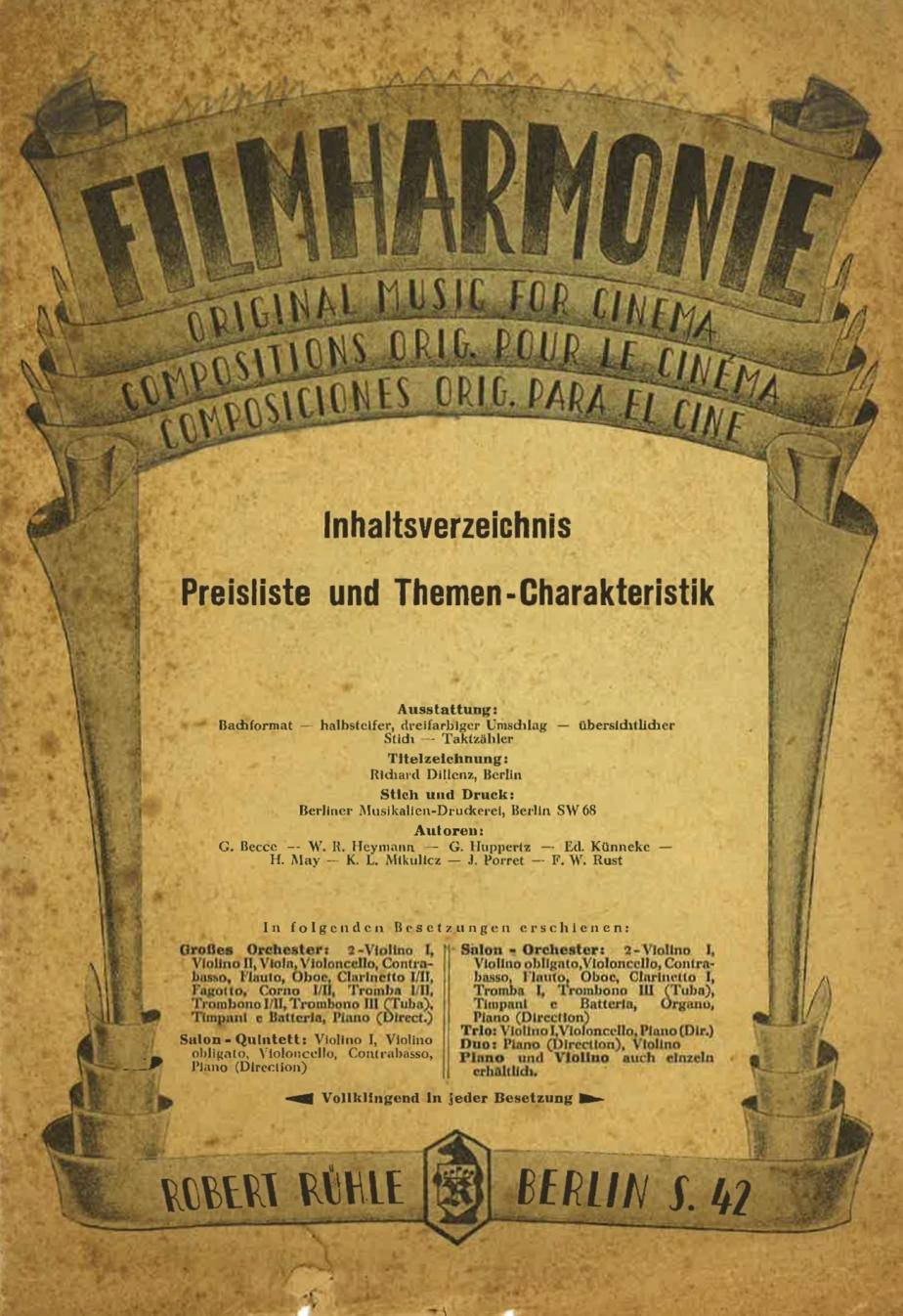 6. Filmharmonie