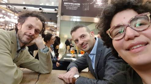 Stefano Vallauri, Francesco Finocchiaro, and Marida Rizzuti